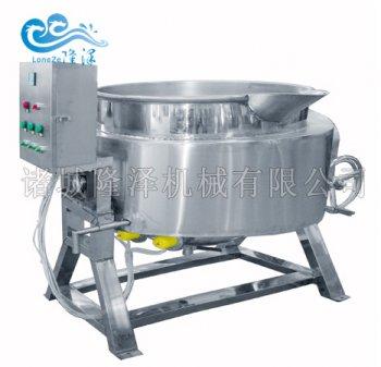 电磁夹层锅 电磁搅拌炒锅